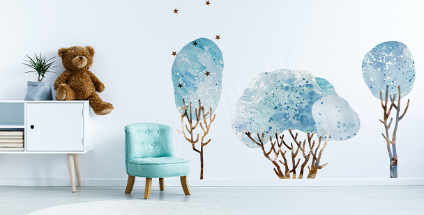 Nálepka stromy do dětského pokoje