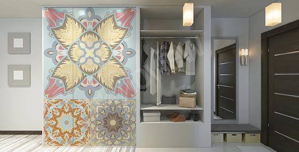 Nálepka v arabském stylu na skříň