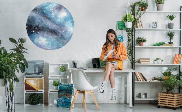 Nálepka vesmír do kanceláře
