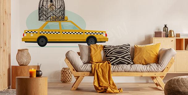 Nálepka vozidlo do obývacího pokoje