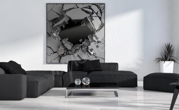 Obraz 3d do obývacího pokoje
