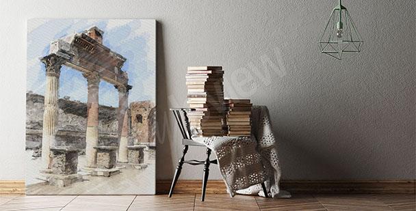 Obraz architektura antiky
