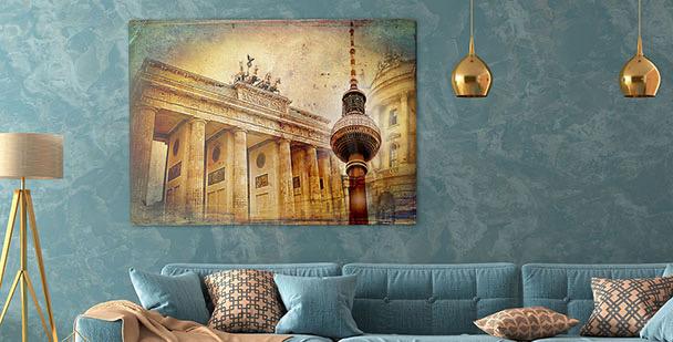 Obraz architektura města