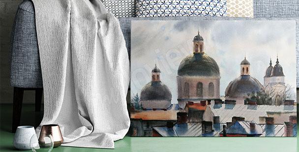 Obraz architektura Ukrajiny