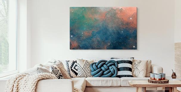 Obraz barevné galaxy