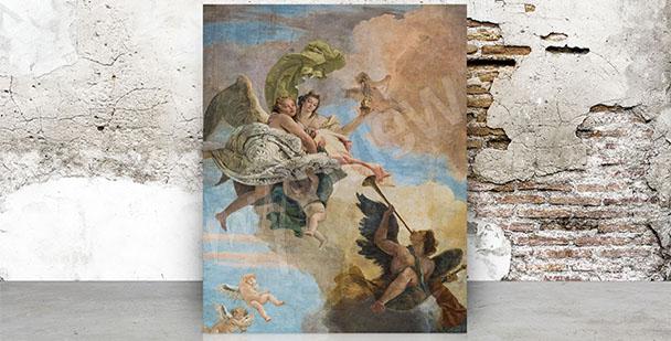Obraz barokní freska