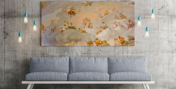 Obraz barokní styl
