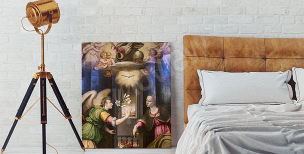 Obraz baroko do ložnice