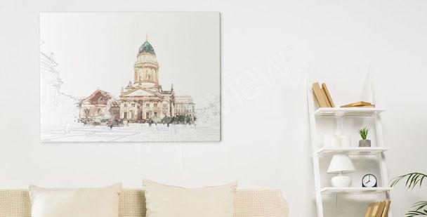 Obraz Berlín a katedrála