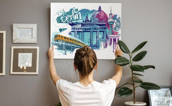 Obraz Berlín a památky