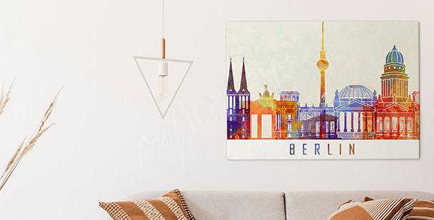 Obraz Berlín v akvarelu