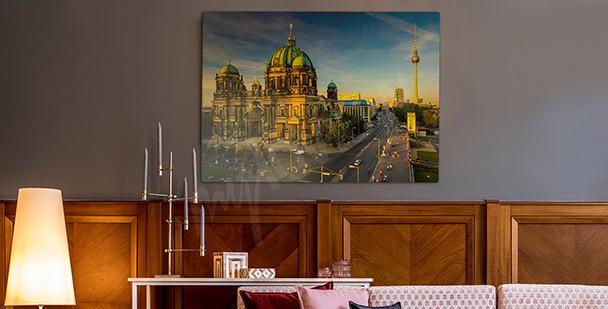 Obraz Berlín ve slunci
