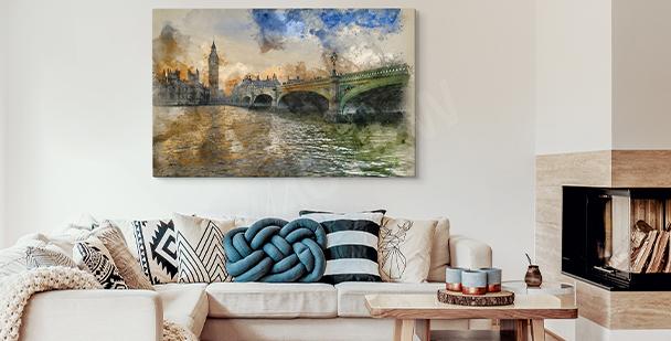 Obraz Big Ben v Londýně