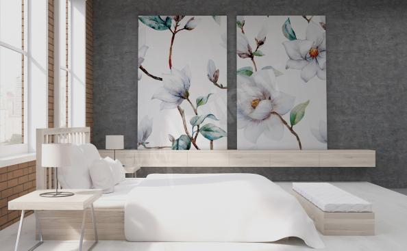 Obraz bílé magnolie