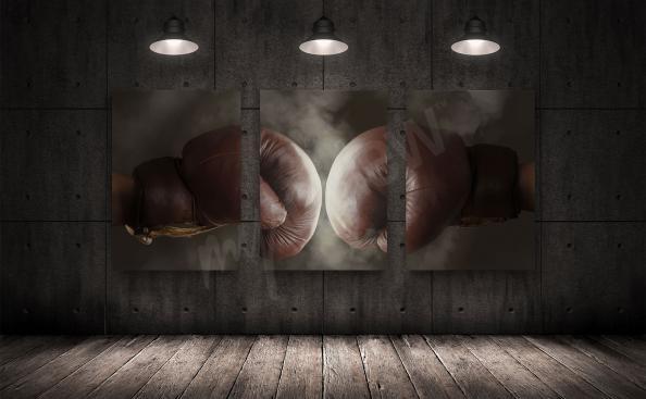 Obraz boxerské rukavice