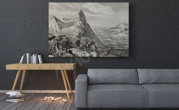 Obraz Černobílé hory