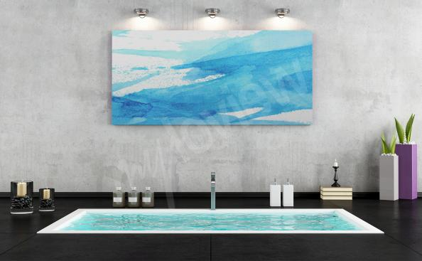 Obraz do koupelny - moře