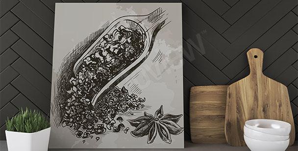 Obraz do kuchyně čaj