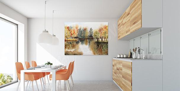 Obraz do kuchyně krajinka