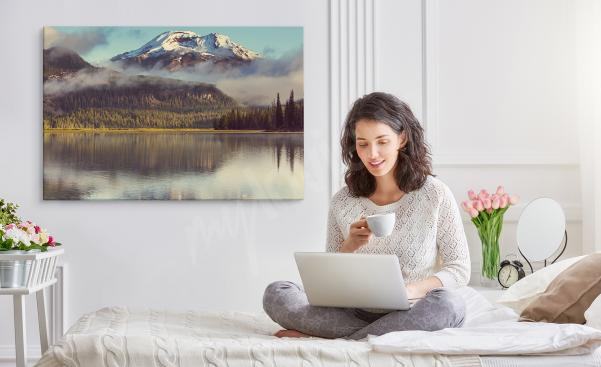 Obraz do ložnice s horské krajiny