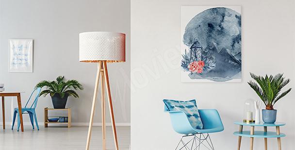 Obraz do obývacího pokoje abstrakce