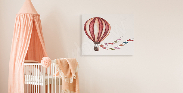 Obraz do pokoje holčičky: balón