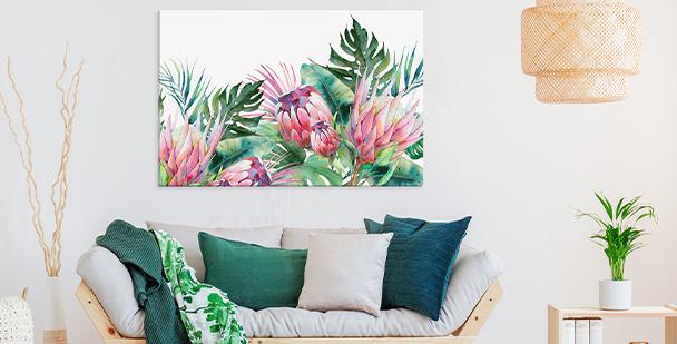 Obraz exotická vegetace