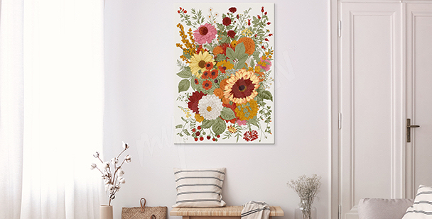 Obraz floral style
