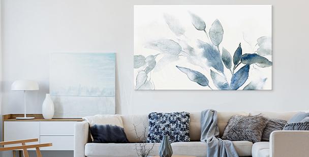 Obraz floral style v akvarelu