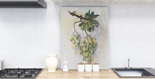 Obraz hroznové víno
