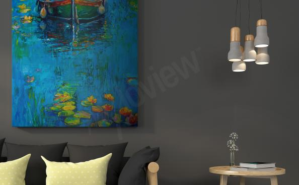 Obraz impresionismus - člun
