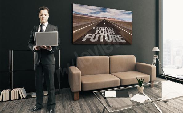 Obraz inspirativní budoucnost