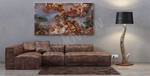 Obraz italské baroko