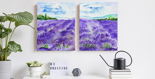 Obraz krajina Provence