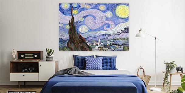 Obraz krajina van Gogha