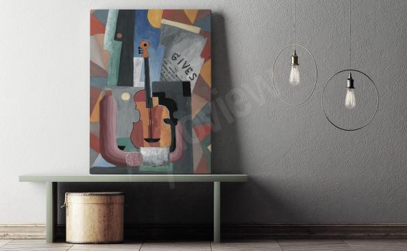 Obraz kubismus hudba