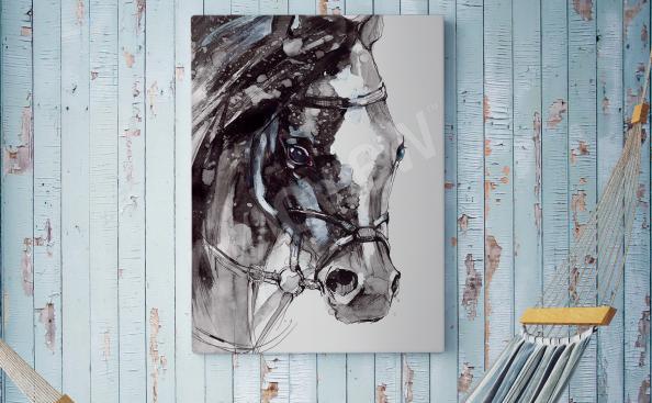 Obraz kůň portrét