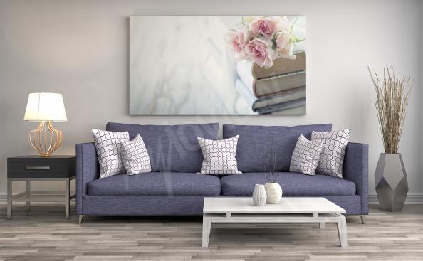 Obraz květiny do aranžaci obývacího pokoje