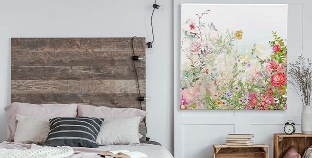 Obraz květiny na louce