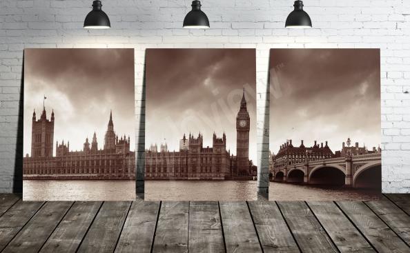 Obraz Londýna v obývacím pokoji