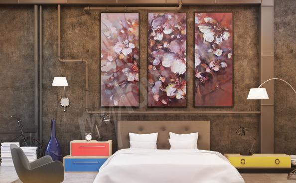 Obraz malířství do ložnice