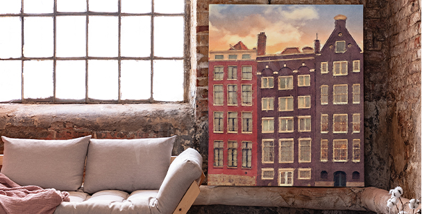 Obraz město Amsterdam