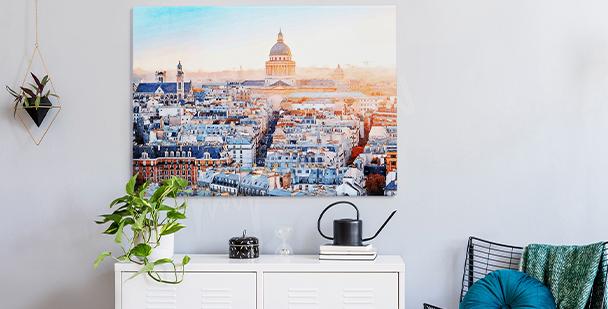 Obraz město Paříž