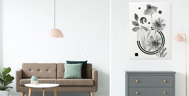 Obraz minimalismus do předsíně