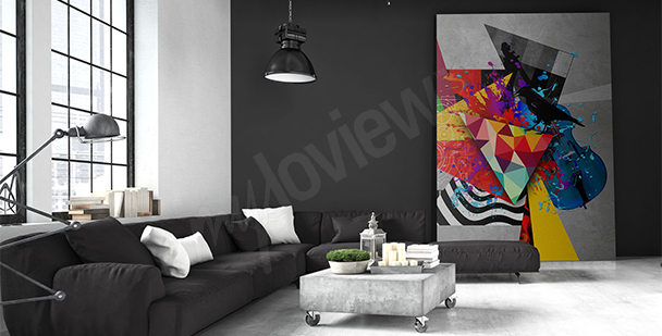 Obraz moderní abstrakce