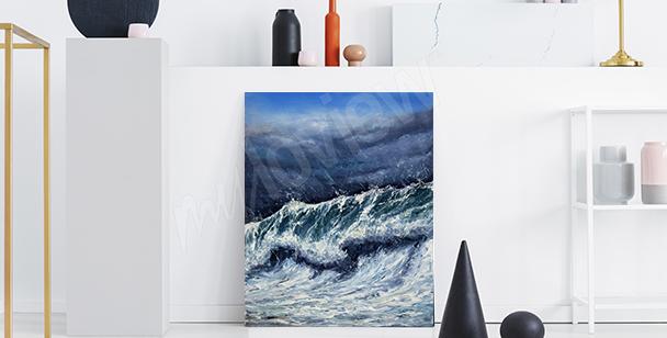 Obraz moře do předsíně
