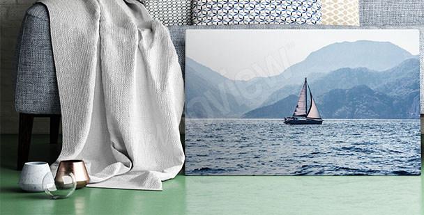Obraz mořská plavba