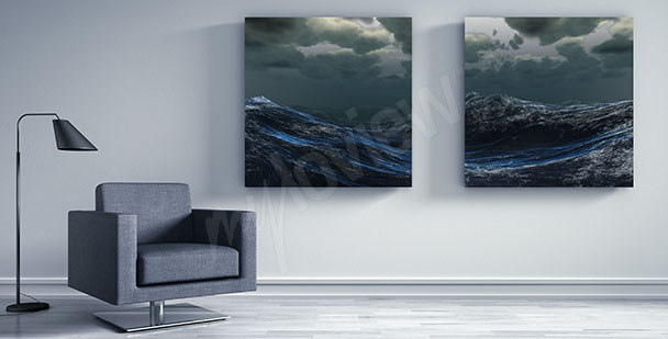 Obraz mořské vlny