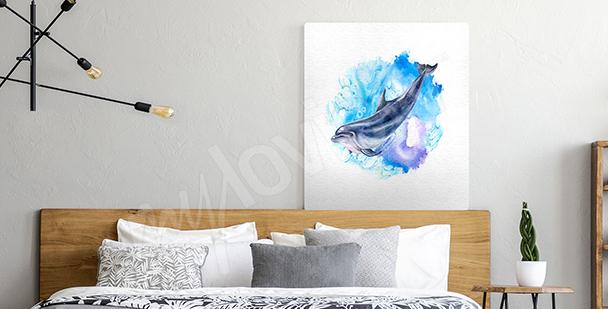 Obraz mořský akvarel