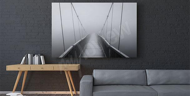 Obraz most 3D